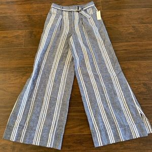 Anthropologie wide leg pants NWT Sz 2